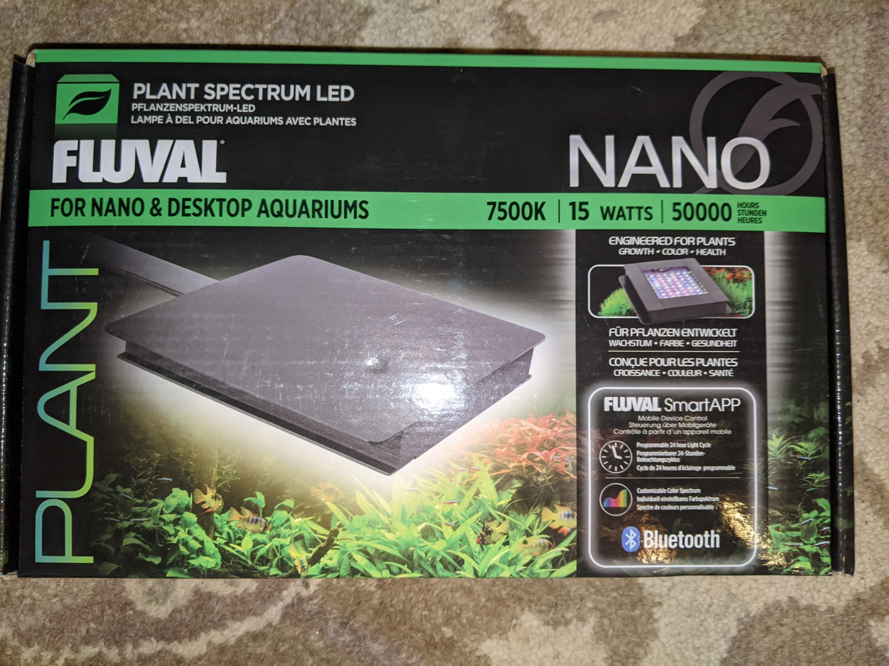 Hagen Fluval Plant Bluetooth Nano LED
